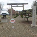川西神社 鳥居(周辺)