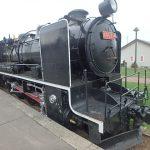 旧愛国駅4 蒸気機関車でかぐろ展示(周辺)