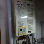 ガス湯沸し器