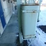 灯油タンク90L 玄関前