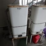玄関前灯油タンク90L