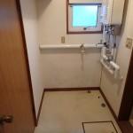 102脱衣室 洗濯機置き場