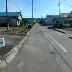 西側町道歩道 10.9m